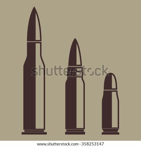 Bullet icon set. Vector illustration of various bullets. - stock vector