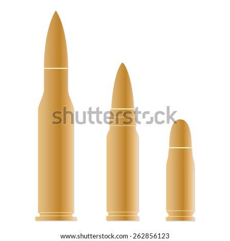 Bullet icons set isolated on white background. Vector illustration of different bullets. - stock vector