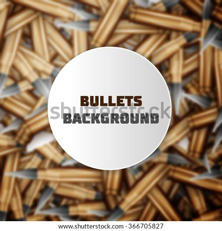 Bullets colorful background - stock vector