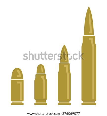 Bullets vector icons - stock vector