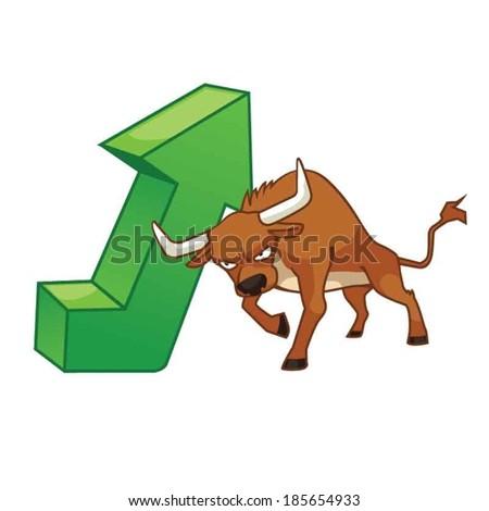 Bullish - stock vector