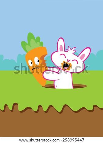 Rabbit burrow clipart - photo#18