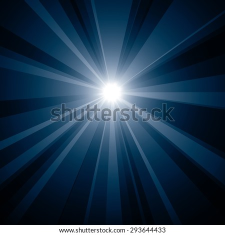 Burst vector background. - stock vector