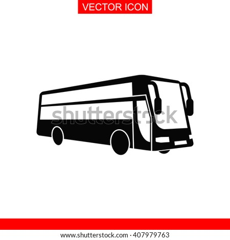 Bus Icon.  - stock vector