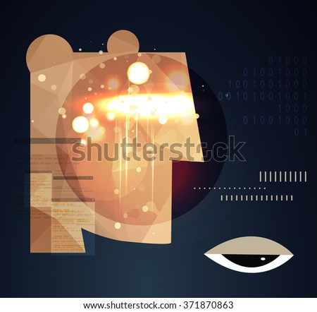 Business Abstract Background - stock vector