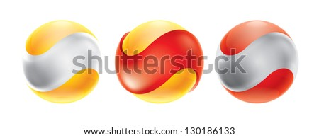 Business Abstract Bubble icon. Corporate, Media, Technology. Logo design template - stock vector