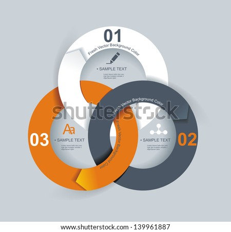 Business Abstract Circle icon. Corporate, Media, Technology styles vector logo design template. - stock vector