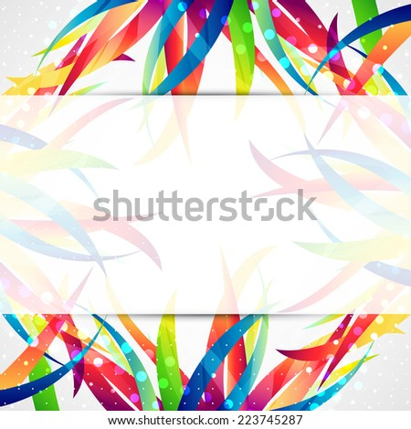 Business abstract wave corporate background. - stock vector