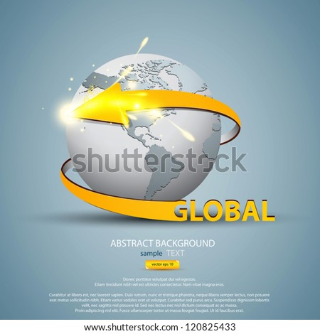 Business and communications concept. Vector - stock vector