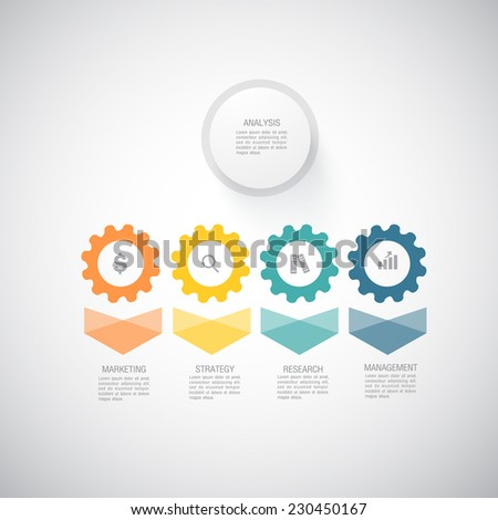 Business and Marketing Concept  - stock vector