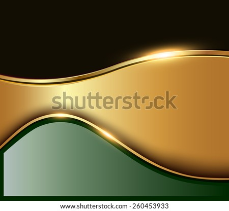 Business background, elegant abstract vector illustration. - stock vector