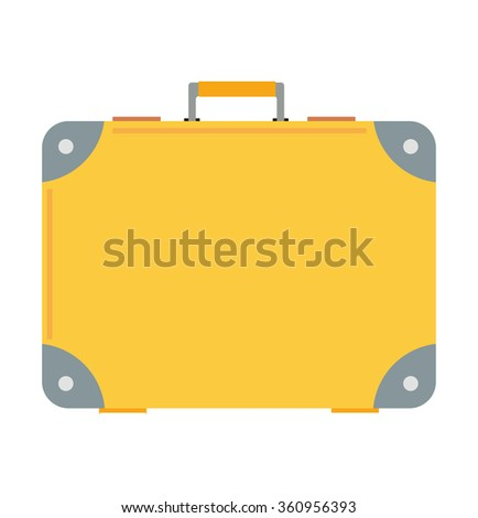 Business bag suitcase vector illustration. Business bag suitcase isolated on background. Business bag case symbol. Business bag. Business bag for office. Business case vector. Office work, business - stock vector
