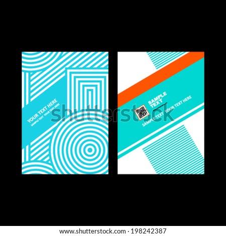 Business brochure design. - stock vector