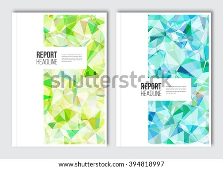 Business brochure design template. Vector flyer layout, backgrounds with elements for magazine, cover, poster design. A4 size. - stock vector
