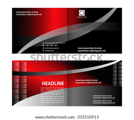 Business brochure or Cover Design  - stock vector