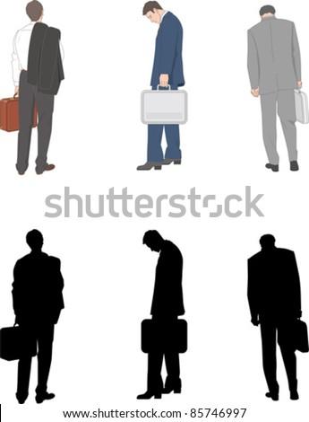 Business / Businessman - stock vector
