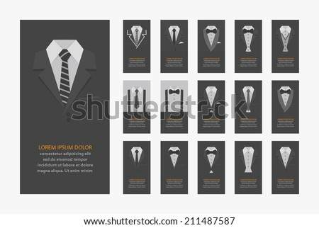 Business cards , eps10 vector format - stock vector