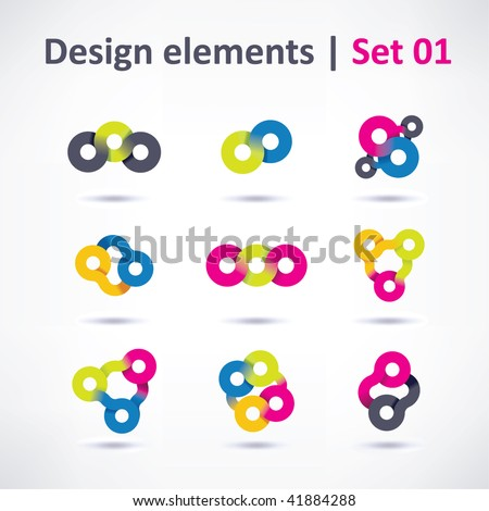 Business Design elements ( icon ) for print and web. vector - stock vector