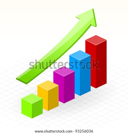 Business Growth Success Chart - stock vector