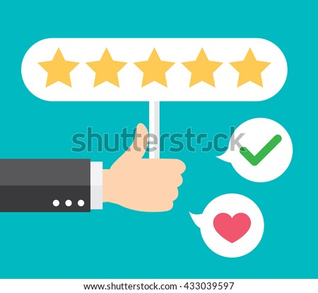 positive feedback examples business report