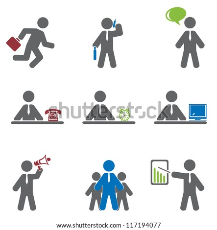 Business icon - stock vector