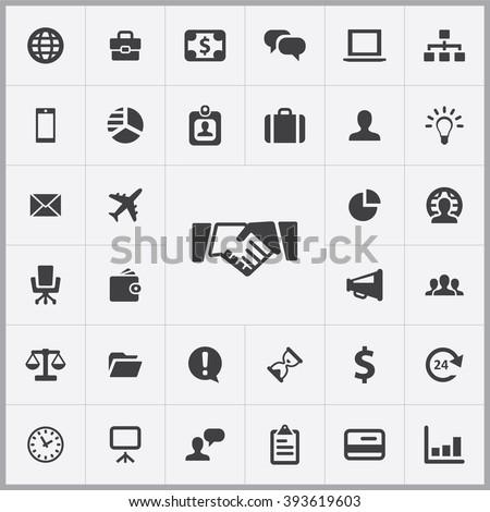 Business Icon, Business Icon Vector, Business Icon Art, Business Icon eps, Business Icon Image, Business Icon logo, Business Icon Sign, Business icon Flat, Business Icon design, Business icon app - stock vector