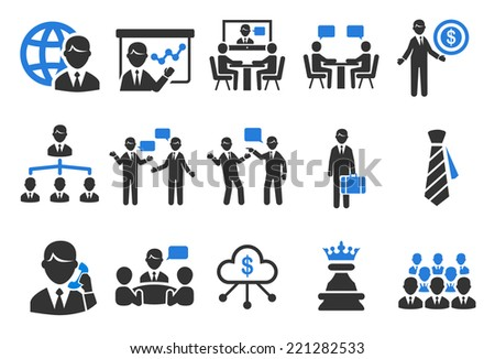 Business icons - Illustration - stock vector