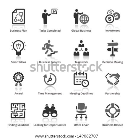 Business Icons - Set 3   - stock vector