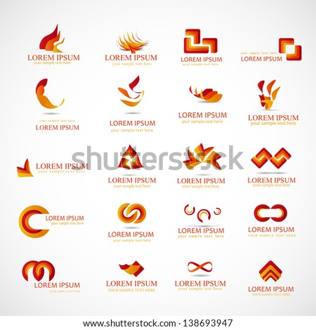 Business Icons - Set - Isolated On Background - Vector Illustration, Graphic Design Editable For Your Design. Business Logo  - stock vector