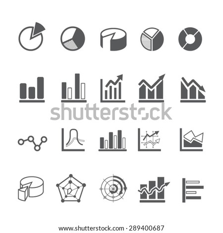 Business Infographic icons set, Vector  - stock vector