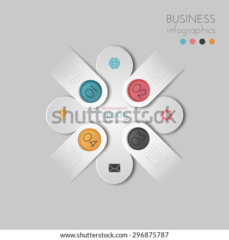 Business infographics. - stock vector