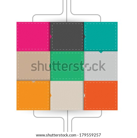 Business Infographics blank availability vector illustration - stock vector