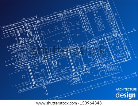 business layout - stock vector