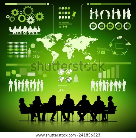 Business Planning Analyst - stock vector