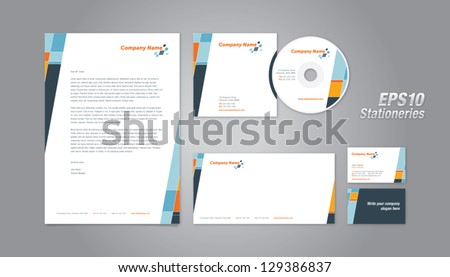 Business Stationery - stock vector