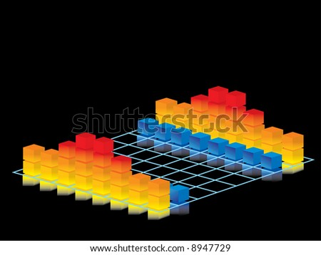 Business strategy - stock vector