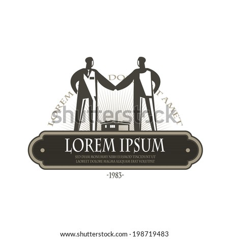 Business. Vector format - stock vector