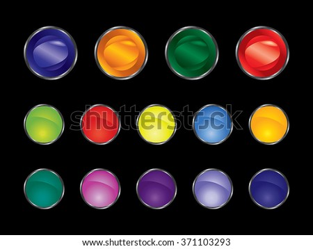 Button. Button for website. Graphic elements. - stock vector