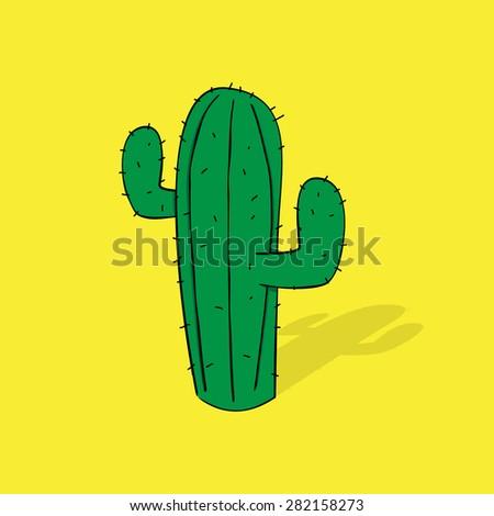 Cactus - stock vector