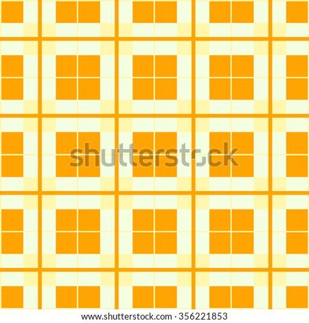Cage backdrop pattern orange - stock vector
