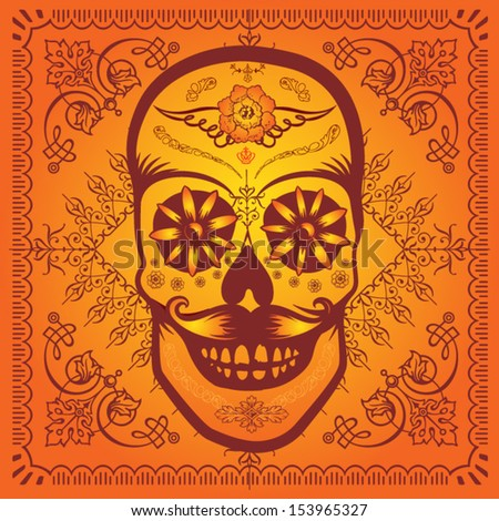 Calaverita - stock vector
