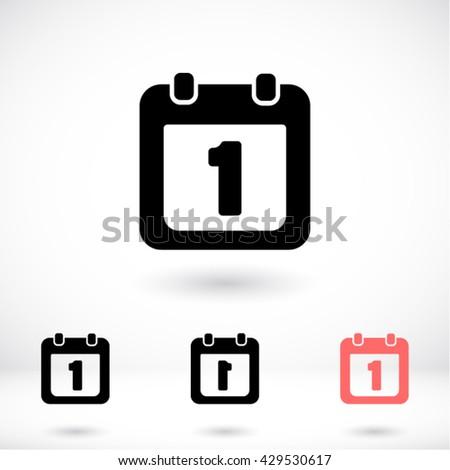Calendar 1 Icon, calendar 1 icon flat, calendar 1 icon picture, calendar 1 icon vector, calendar 1 icon EPS10, calendar 1 icon graphic, calendar 1 icon object, calendar 1 icon JPEG, - stock vector