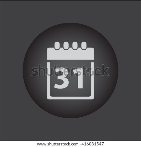 Calendar icon, calendar vector icon, calendar icon illustration, calendar icon eps, calendar icon jpeg, calendar icon picture, calendar flat icon, calendar icon design, calendar icon web, - stock vector