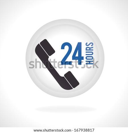 call center over white background vector illustration   - stock vector