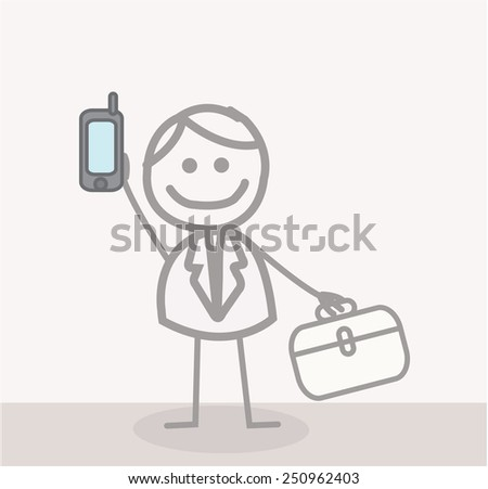 Call Doctor - stock vector