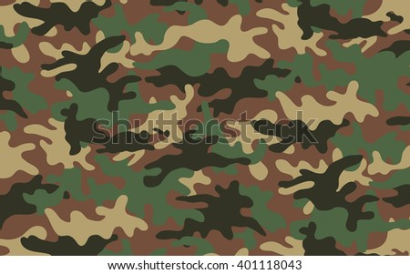 Camouflage texture 2 - stock vector