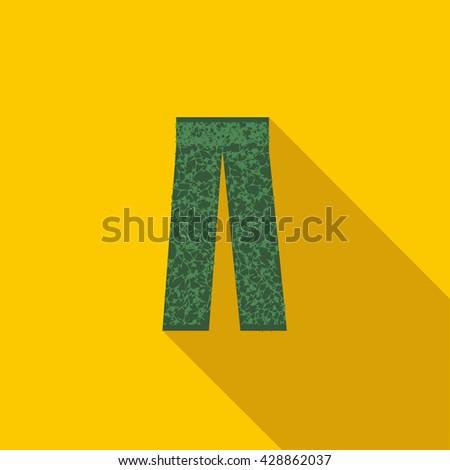 Camouflage trousers icon. Camouflage trousers icon art. Camouflage trousers icon web. Camouflage trousers icon new. Camouflage trousers icon www. Camouflage trousers icon app. Camouflage trousers icon - stock vector