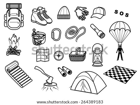 Camping Set - stock ve...