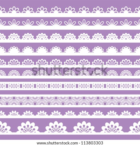 Can be used for use with backgrounds or scrap-booking. - stock vector