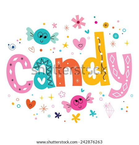 candy - stock vector